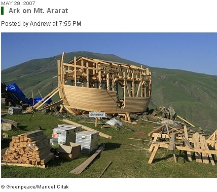 Greenpeace: Corporate Stocks & Noah's Arks