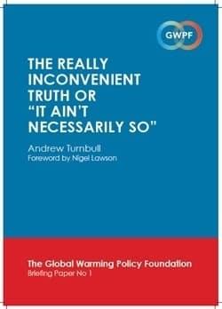 Lord Turnbull Trashes the IPCC