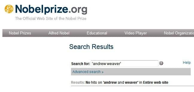 weaver_nobel_search