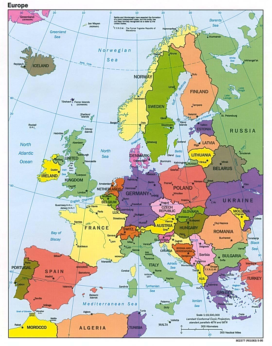 Europe: Dawn & Lesson