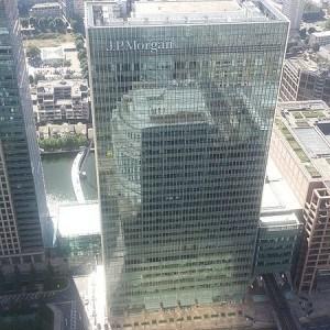 JPMorgan Tower In London - Photo by Danesman1