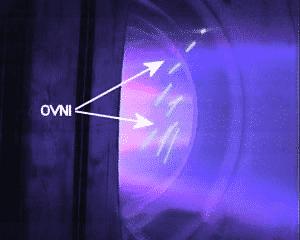 OVNI Inside Thermonuclear Plasma.