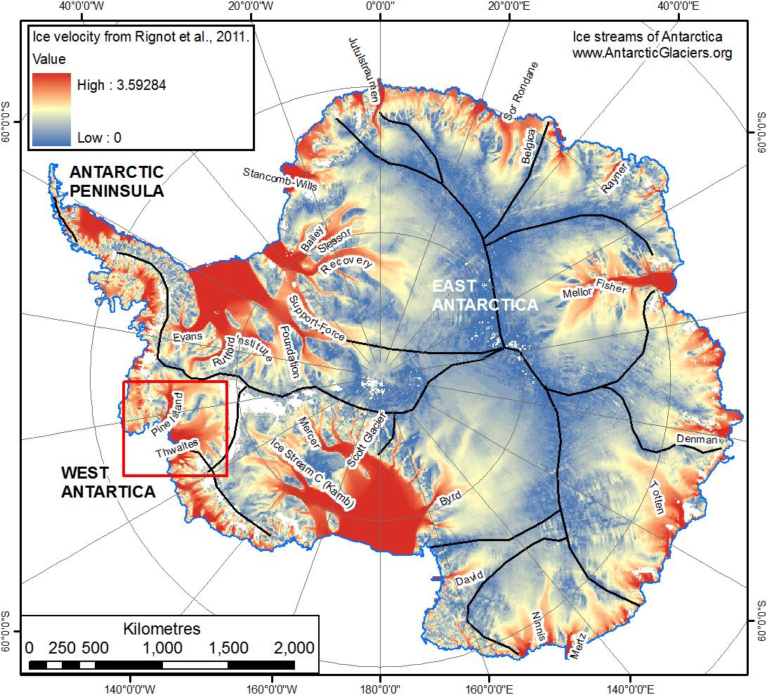 Antarctica's Glaciers Disintegrating
