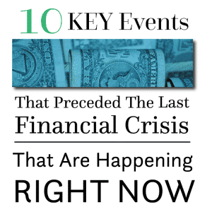 10 Key Events That Preceded The Last Financial Crisis That Are Happening Again RIGHT NOW