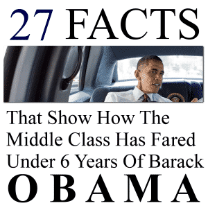 27 Facts That Show How The Middle Class Has Fared Under 6 Years Of Barack Obama