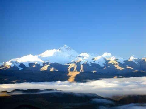 Everest Looks Like A Giant Wave. It's A Wave Of Rock Breaking Onto Tibet.