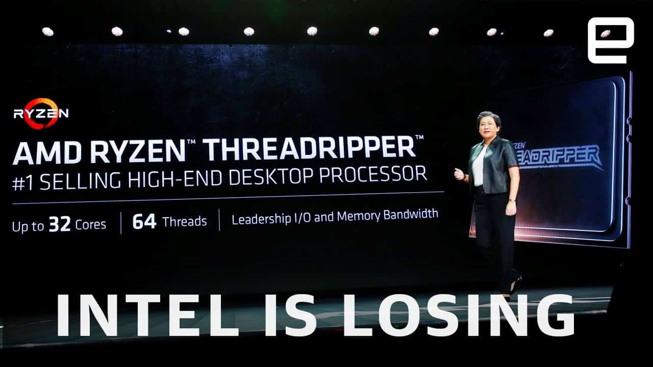 Intel is losing to AMD