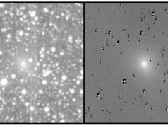 TESS saw the comet 47/P Wirtanen undergo an outburst after a debris impact