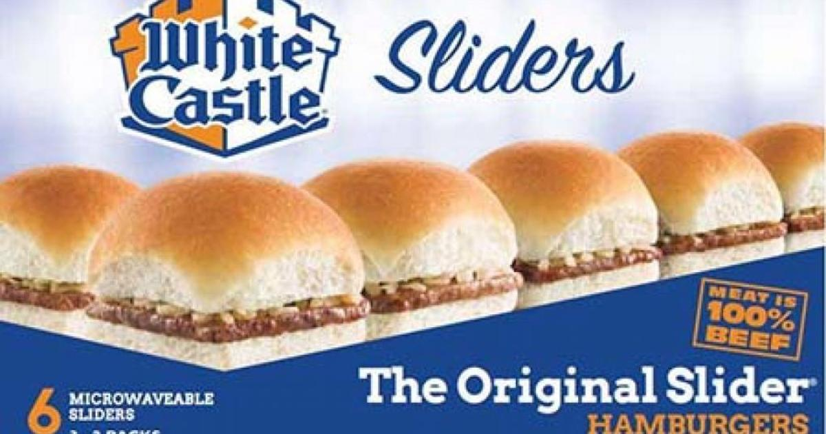 White Castle burger recall: Frozen hamburgers and sliders recalled for possible listeria contamination