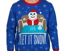 'Let It Snow' sweater, depicting Santa with lines of cocaine, is one of year's products gone wrong