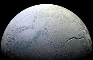 Why Does Enceladus Have Stripes at its South Pole?