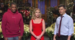 Scarlett Johansson's sixth Saturday Night Live succumbs to smirking centrism