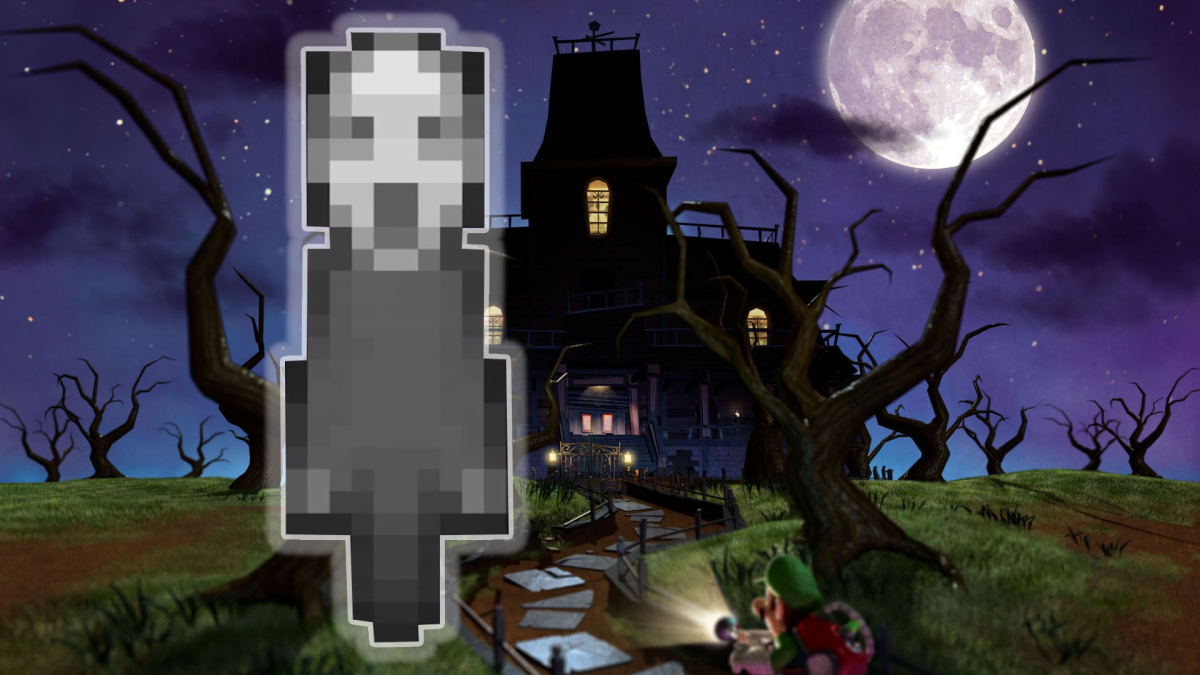 There's A Creepy Ghost Secretly Following You In Super Mario 3D Land