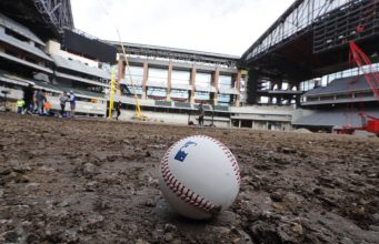 Texas Rangers' New $1.2 Billion Stadium Wasn't the Only Thing on Fire Saturday