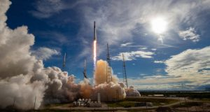 SpaceX to cap transitional year with launch, poised for big things in 2020