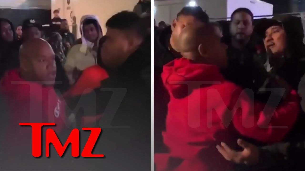 Nipsey Hussle's Bodyguard, J Roc, Attacks The Game's Manager, Wack 100 | TMZ