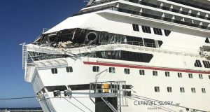 2 Carnival Cruise ships collide in Cozumel, Mexico; at least 6 people injured
