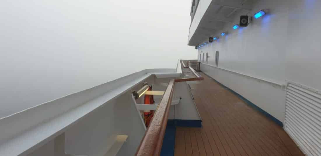 Heavy Fog Delays Carnival Cruise Ships at Port of Galveston