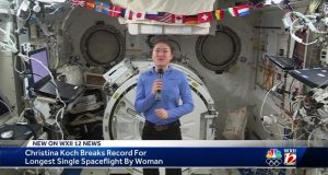 NC State grad Christina Koch breaks NASA record for longest female spaceflight -Salem