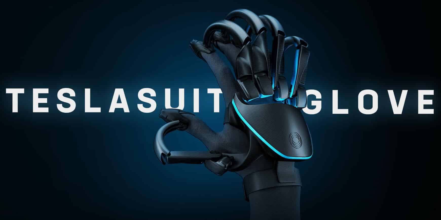 New VR Teslasuit Glove Simulates Real Touch Sense Feedback