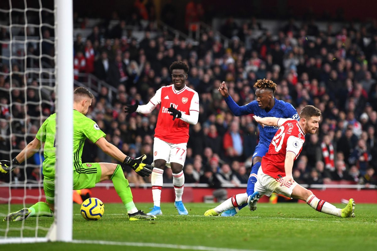 Chelsea stage dramatic late comeback to snatch unlikely victory at Arsenal