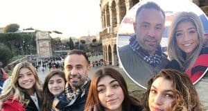 Joe Giudice spends the Christmas holidays with his kids in Italy