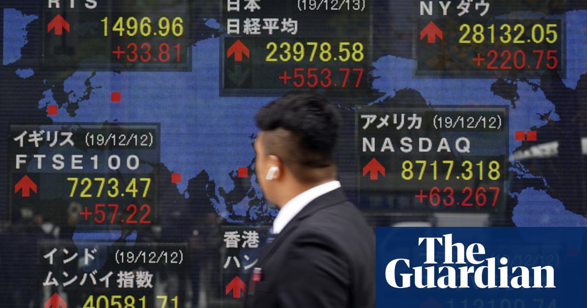 How financial markets turned upside down in 2019