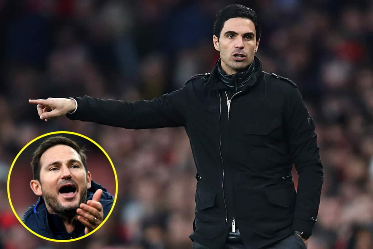 Frank Lampard admits he was outfoxed by Mikel Arteta before Chelsea's dramatic comeback at Arsenal