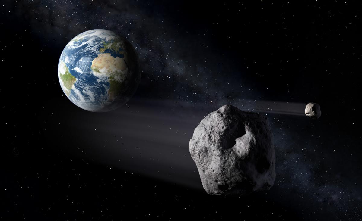 NASA Warns 5 Asteroids Headed For Earth Tomorrow