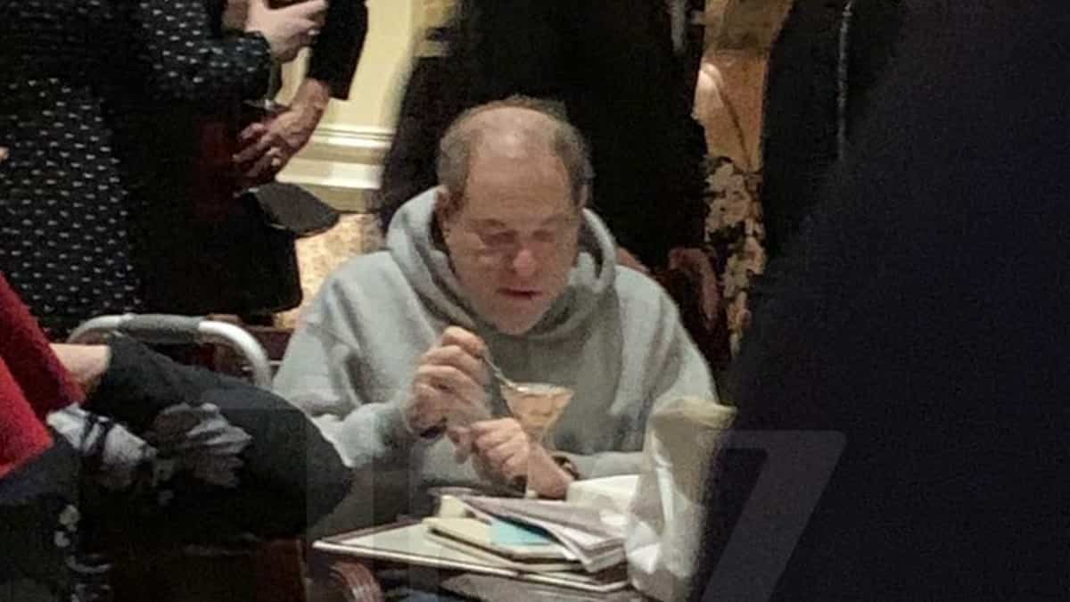Harvey Weinstein Spotted Eating Ice Cream Alone in NJ Hotel