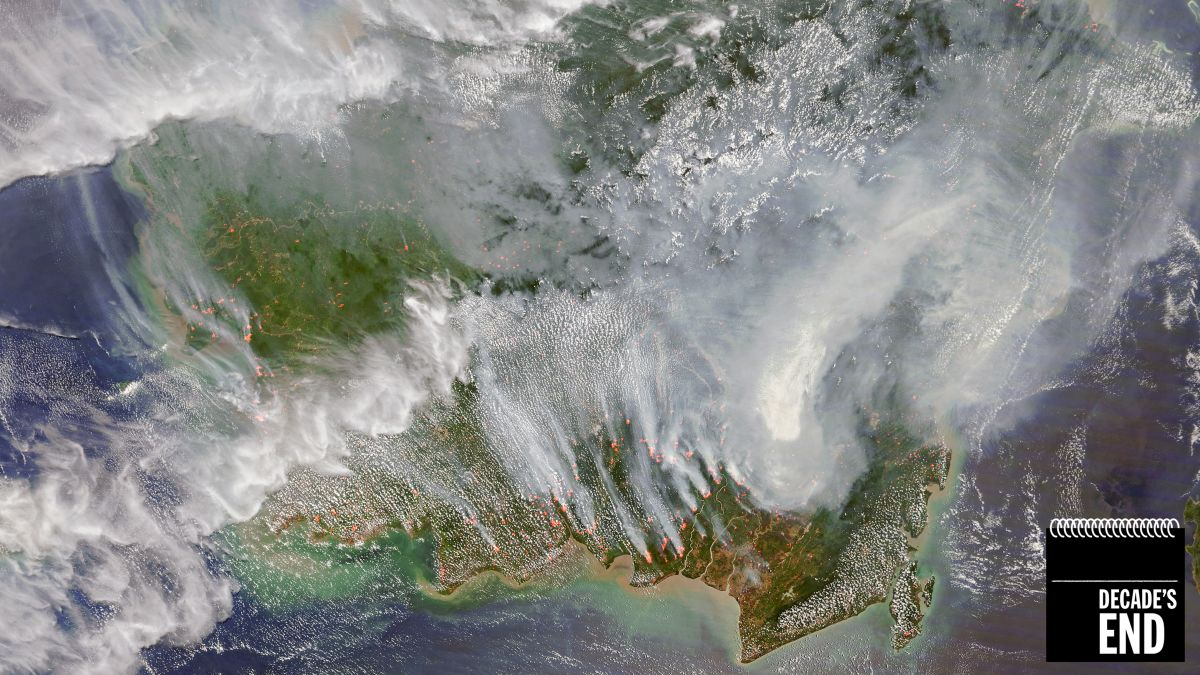 The Satellite Images That Show a Decade of Climate Change