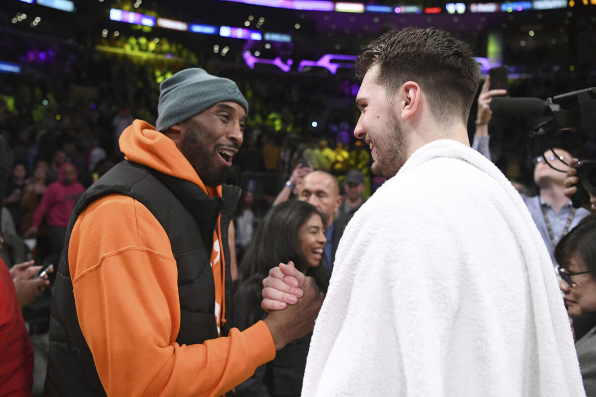 Luka Doncic Could Learn a Thing or Two From Kobe Bryant's Multi-Lingual Trash Talk