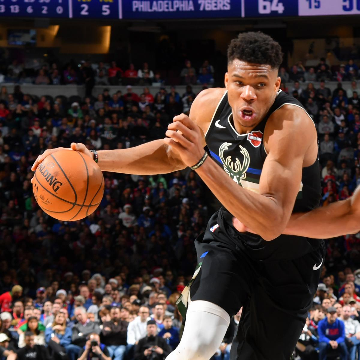 NBA Power Rankings: Does Bucks' Christmas Loss Open Door for a New No. 1?