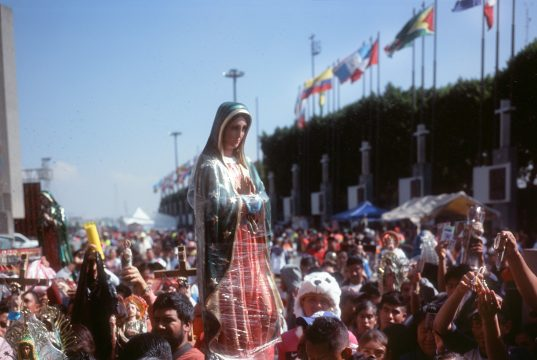 Every year millions of miracle-seeking pilgrims visit Mexico City