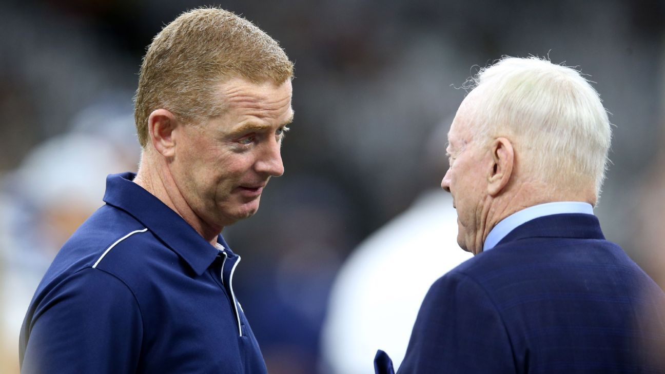 Cowboys yet to announce decision on Jason Garrett's status