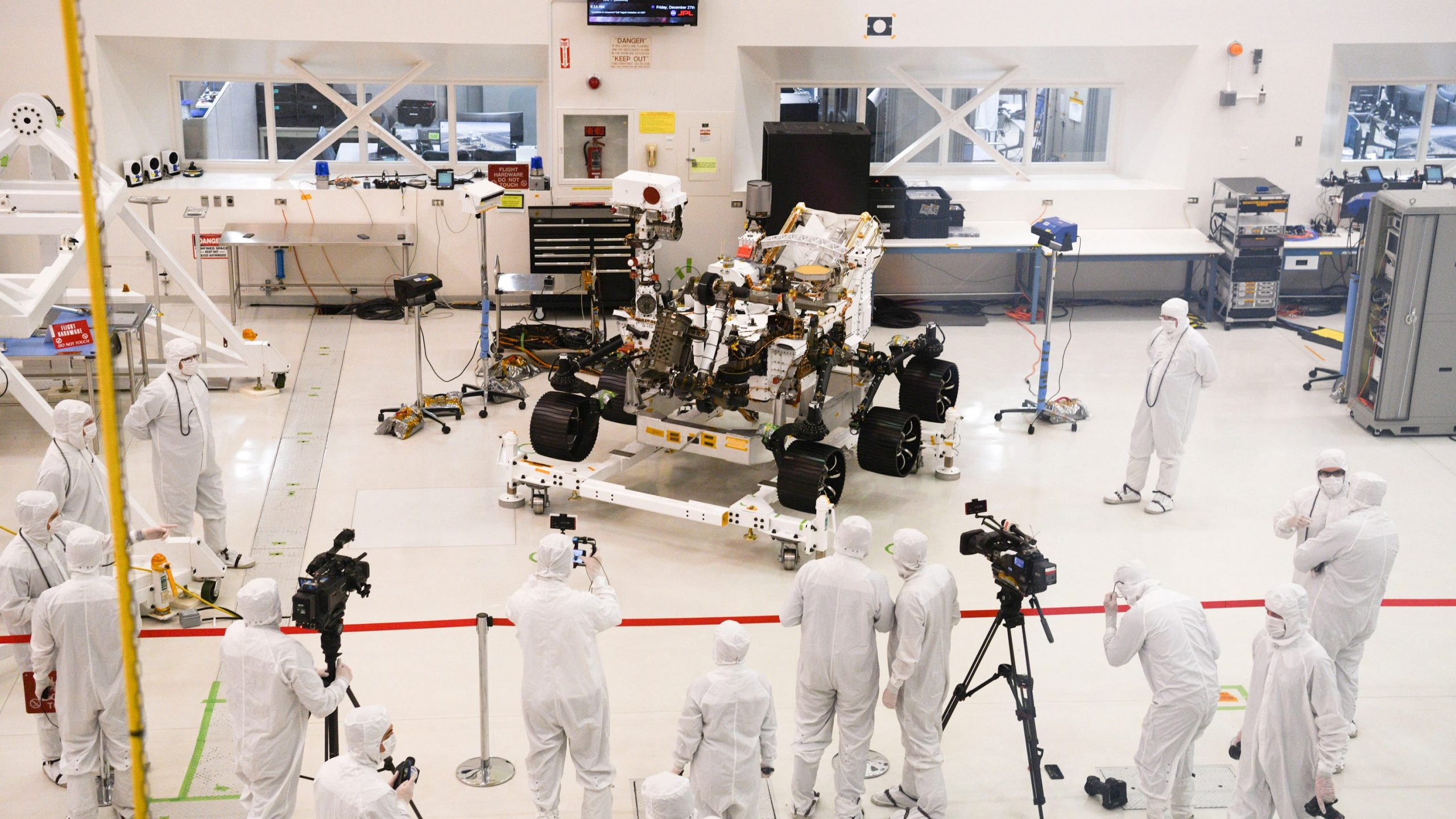 'Are we alone in the universe?' NASA's 2020 Mars rover, a $2.5B robotic astronaut, is being built to help us find out