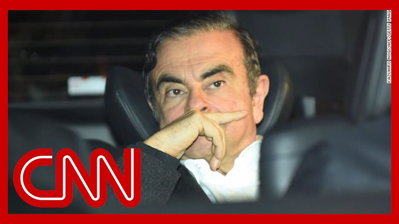 Ex-Nissan CEO Carlos Ghosn flees Japan