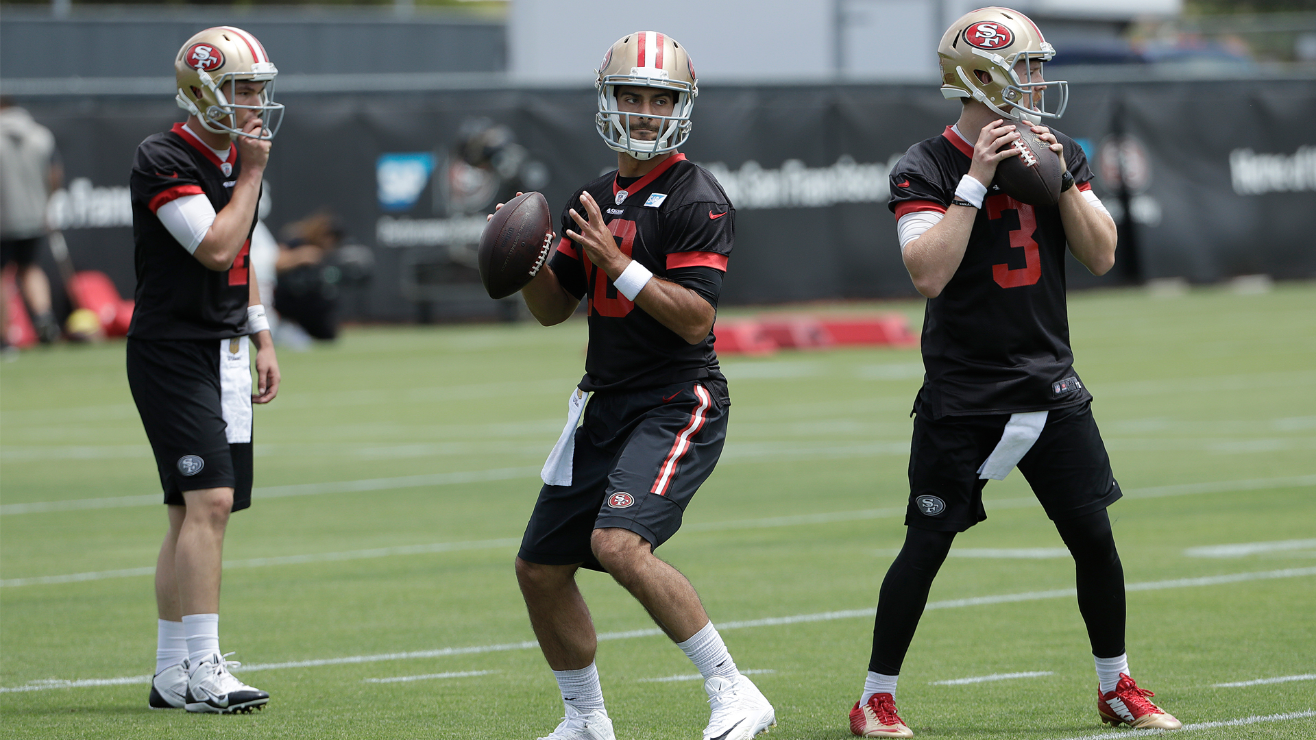 49ers QBs honor Beathard family after win over Seahawks