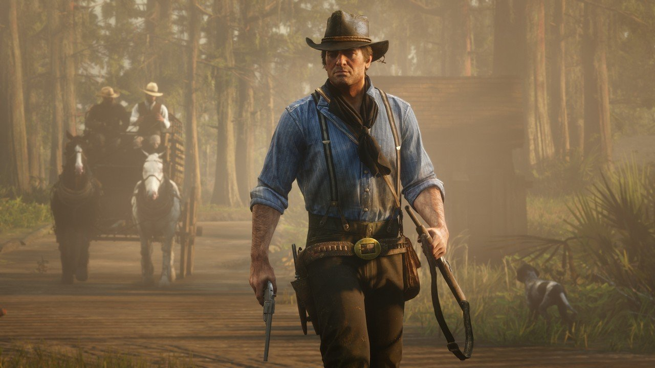 Red Dead Redemption 2 Contains A Nintendo Switch Controller Image