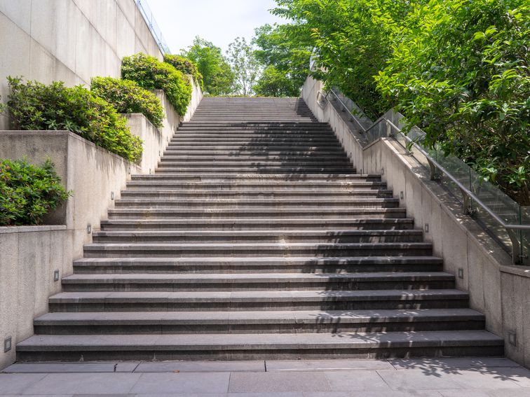 Getting out of breath while walking up stairs: What's normal, what's not