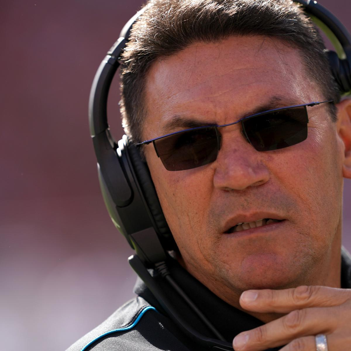 Report: Ron Rivera, Redskins Agree on 5-Year Contract to Be Team's Next HC