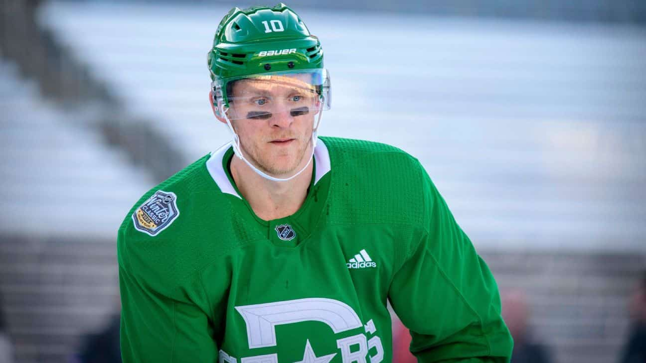 Stars' Perry suspended 5 games for elbowing Ellis