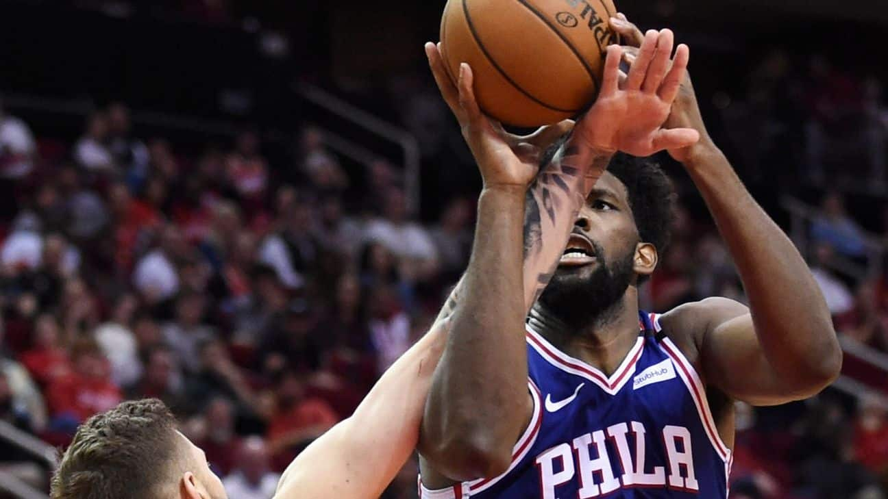 Frustrated Embiid says losing 'taking toll on me'