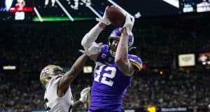 Cook, Vikings upend Saints 26-20 in OT in NFC playoffs