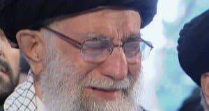 An emotional Khamenei shows Iran general's death is personal