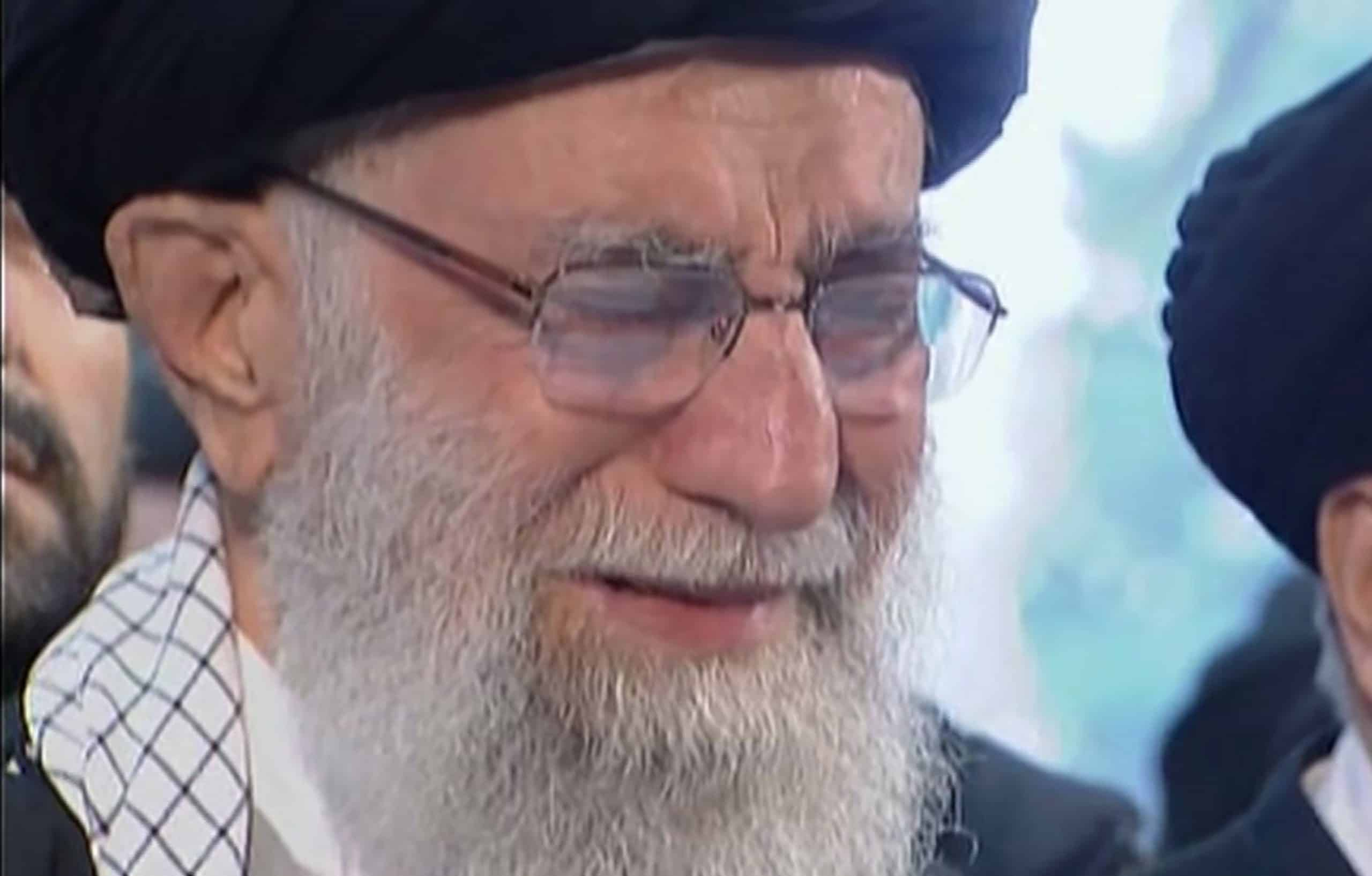 An emotional Khamenei shows Iran general's death is personal