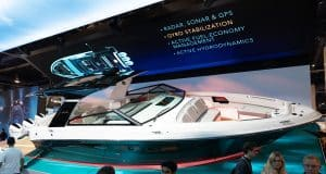 Brunswick and Sea Ray debut a boat loaded with futuristic features at CES