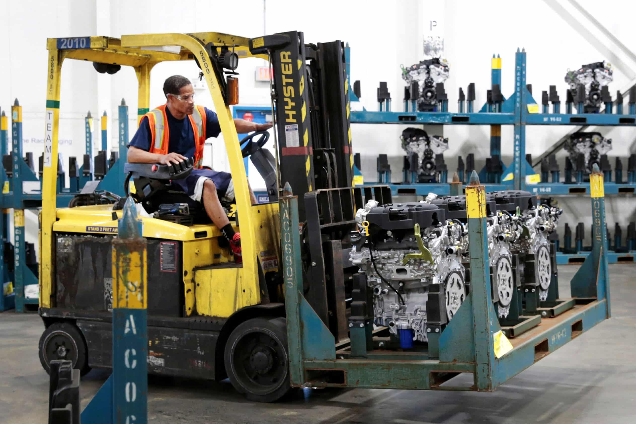 Manufacturing jobs are 'tough to fill' and stand out as the weak spot in the employment picture