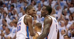 Kendrick Perkins' Twitter Feud with Kevin Durant Reeks of Media Hypocrisy