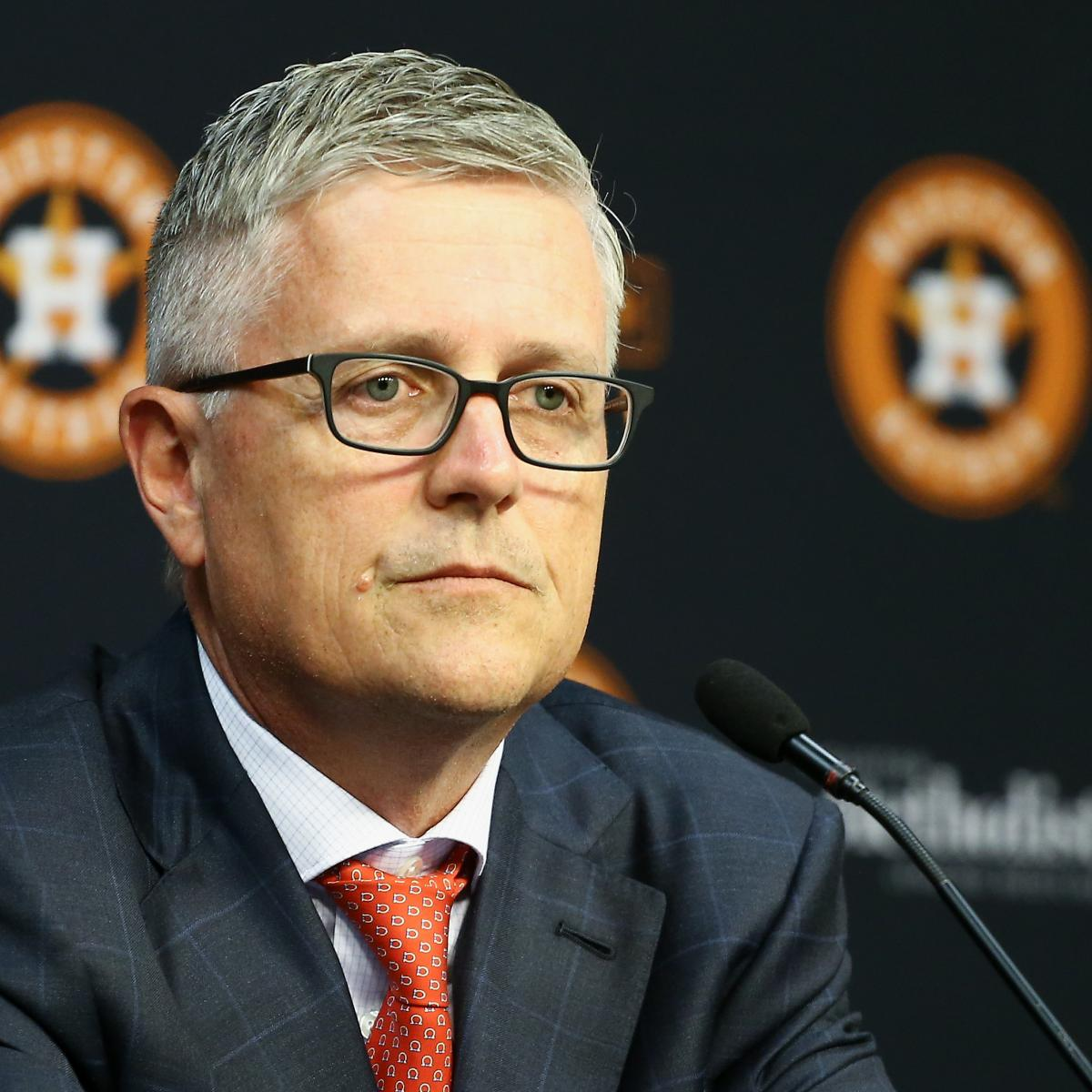 AJ Hinch, Jeff Luhnow Suspended 1 Season; More Penalties for Astros' Cheating